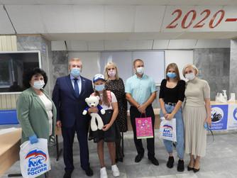 В Югре продолжается благотворительная акция «Собери ребёнка в школу»