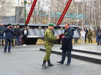 Вячеслав Танкеев стал организатором празднования 100-летия пограничных войск ФСБ России в Нижневарто