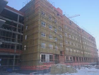 Западнова: На данный момент работы на объекте центральной больницы на 1100 коек в Нижневартовске иду