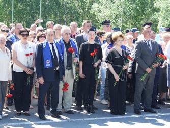 Партийцы Нижневартовска приняли участие в митинге в День памяти и скорби
