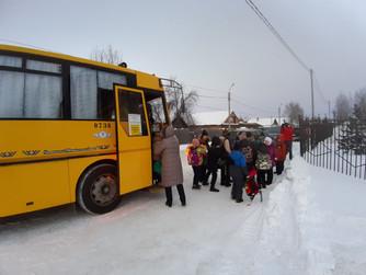 На линию вышел автобус для особенных учеников школы №1