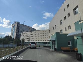 Наталья Западнова побывала на строительстве больницы в Нижневартовске