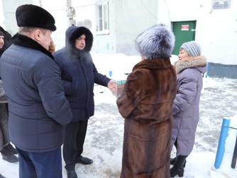 Максим Клец встретился с жителями 6 микрорайона