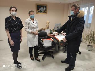 Наталья Западнова: благодарю всех врачей за их самоотверженность