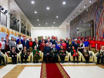 В Нижневартовске поздравили ветеранов