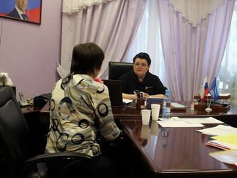 Наталья Западнова провела два дня приема граждан по личным вопросам в Нижневартовске
