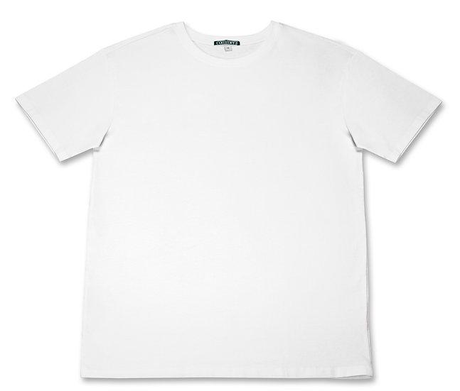 COMMERZ MINIMALISTIC WHITE T-SHIRT