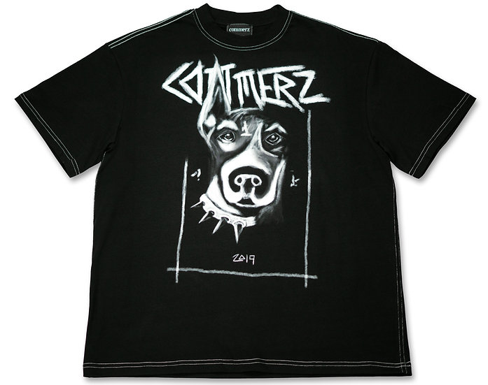 COMMERZ DOG MEN T-SHIRT
