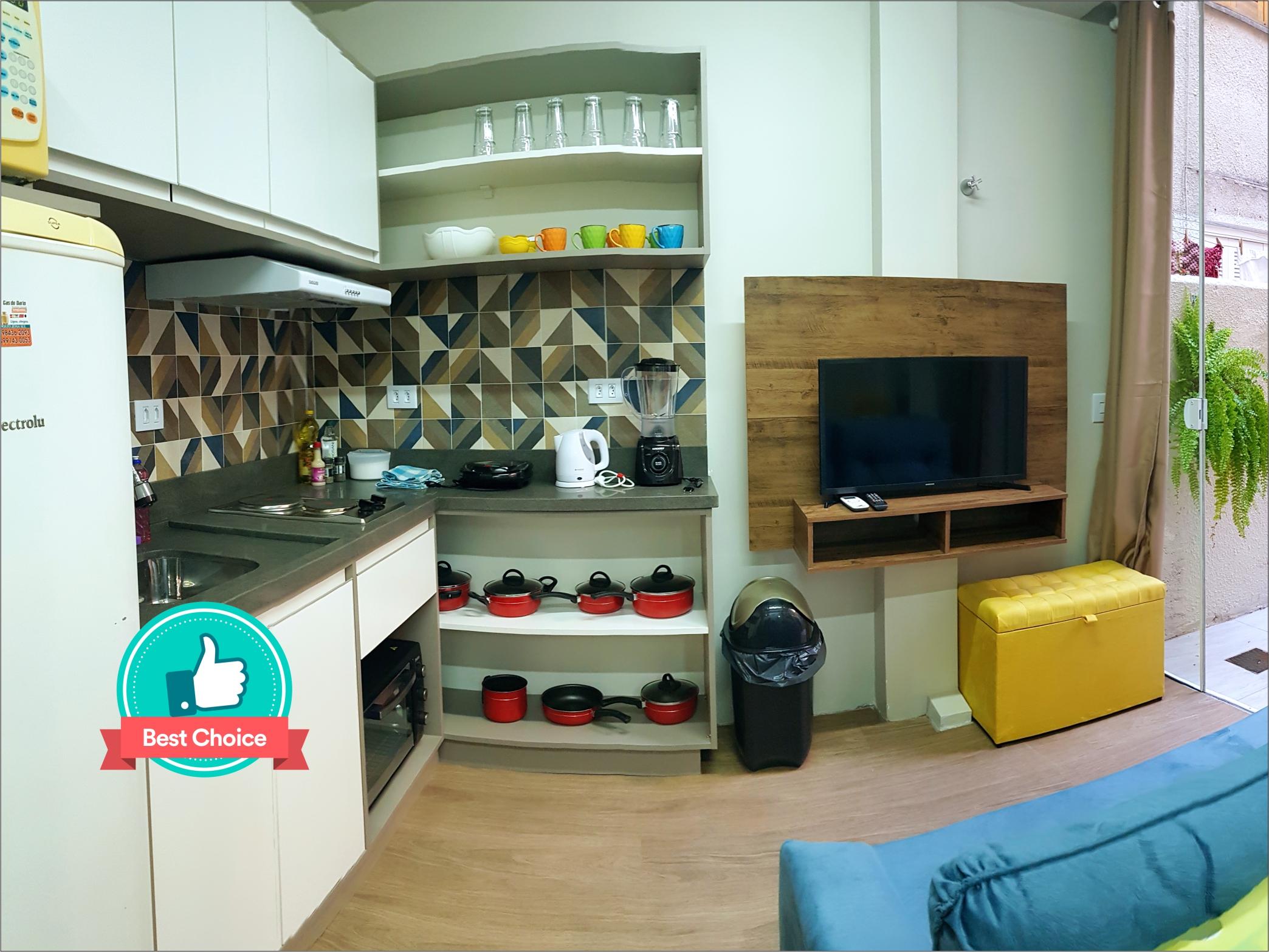 sala estar jantar cozinha