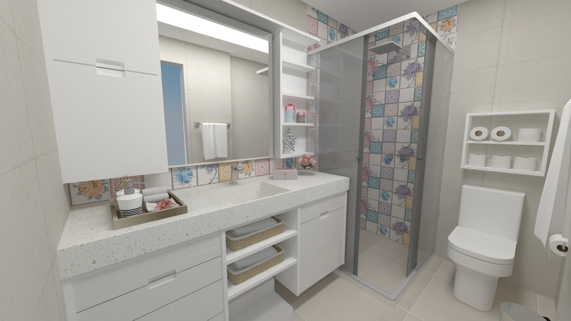 Banheiro Laurinha Imagem grande 1
