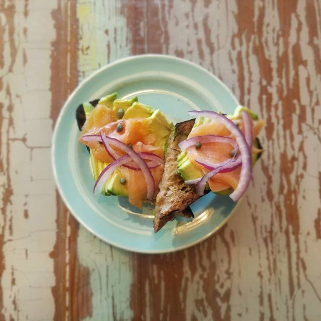 This isn't your typical avocado toast. T
