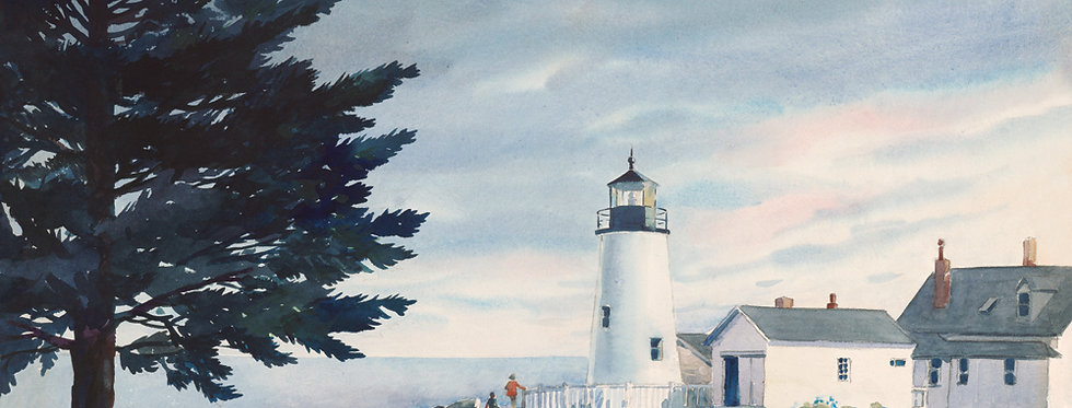#18 Pemaquid Point in Summer