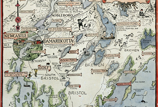 #69 Map: Great Bay to Pemaquid Point