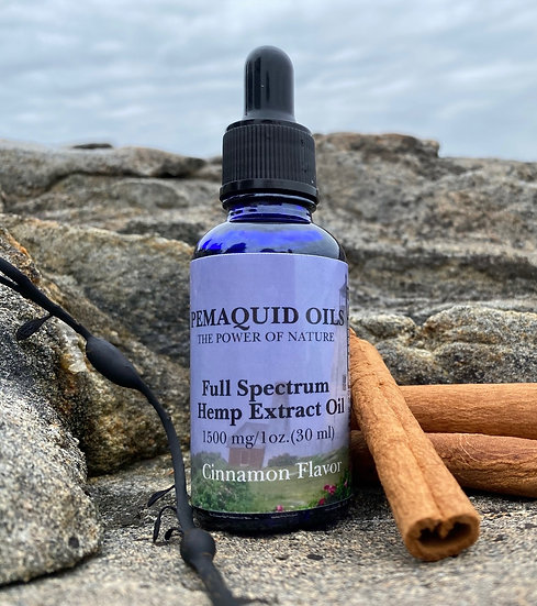 1500mg Cinnamon Full Spectrum Hemp Extract Oil