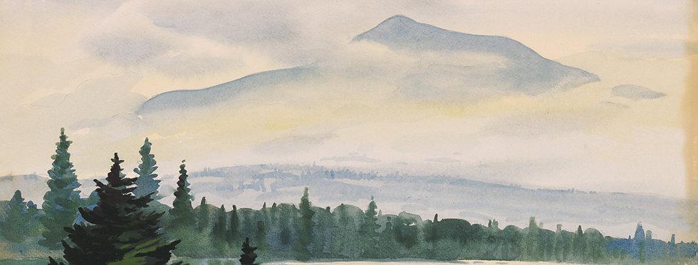 #17 Katahdin in the Mist