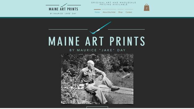 Maine Art Prints