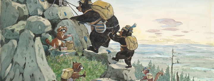 #66 Mountain Climbing Bears