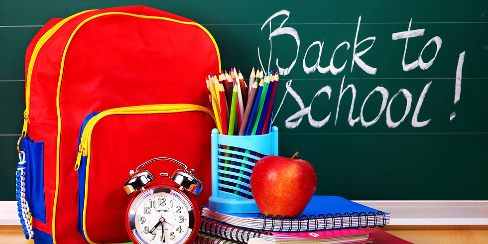 Back to School Supply Drive and Deck Party Featuring Jason Spooner August 26th 2-5pm