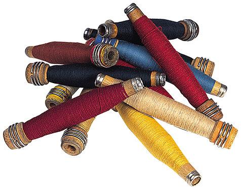 """ST-1 - Dozen 7"""" Spindles with Thread"""
