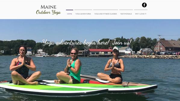 Maine Outdoor Yoga