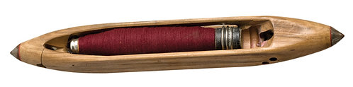 """SH - 13"""" Wooden Shuttle with Threaded Spindle"""