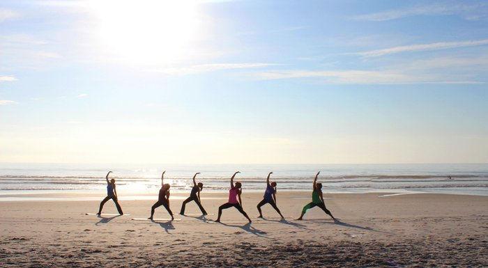 Pemaquid Beach Yoga