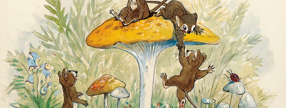 #32 Mice on a Mushroom