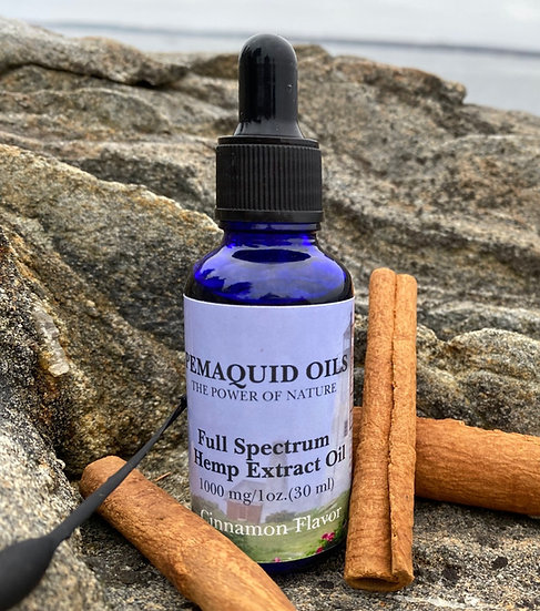 1000mg Cinnamon Full Spectrum Hemp Extract Oil