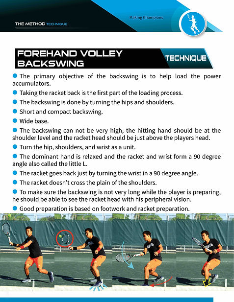 one handed backhand