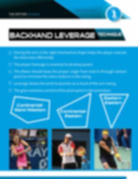 backhand leverage