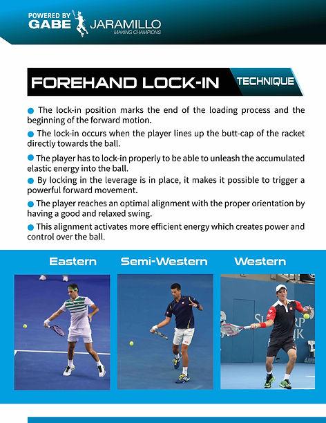 forehand lock-in position federer, djokovic, nishikori