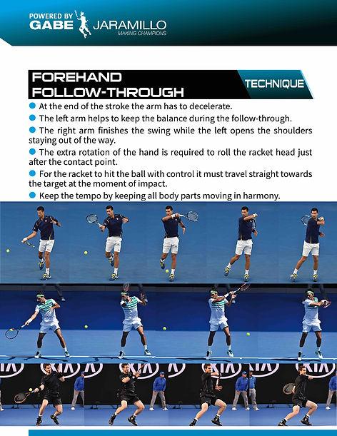 forehand follow through