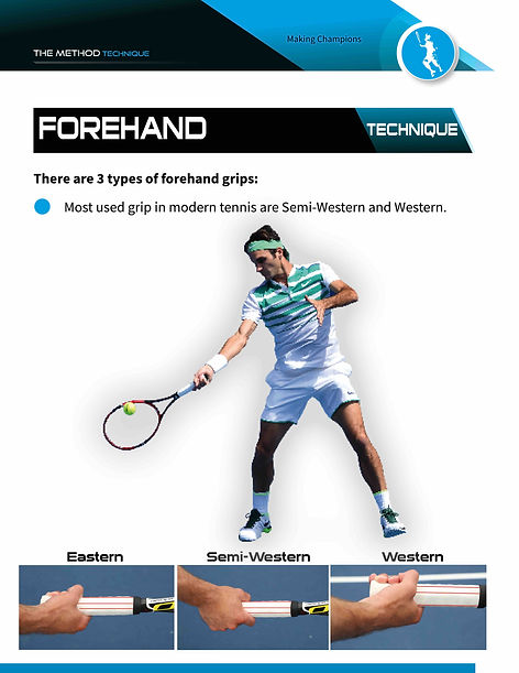 forehand grips