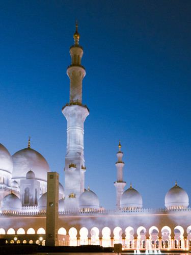 sheikh+zayed+mosque+sunset
