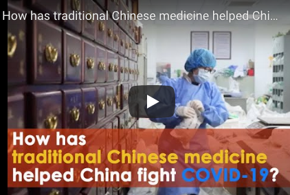 How has traditional Chinese medicine helped China fight COVID-19?