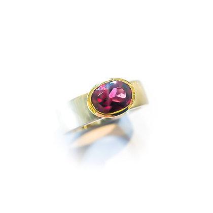 Pink/ Red Tourmaline Ring