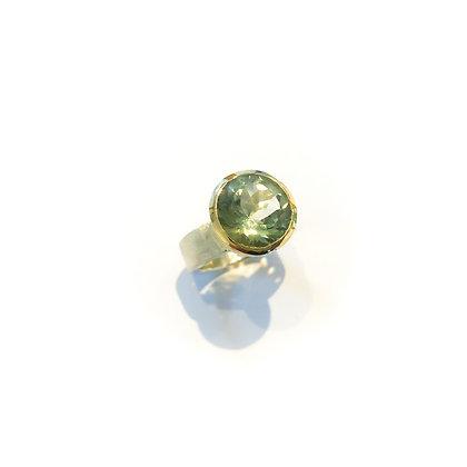 Green Quartz Cocktail Ring