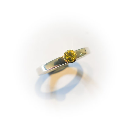 Tiny Sapphire Ring