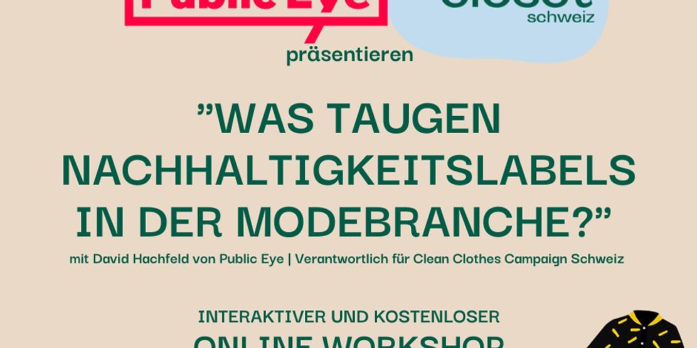 Online-Workshop mit Public Eye