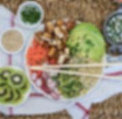 recette healthy bowl au quinoa