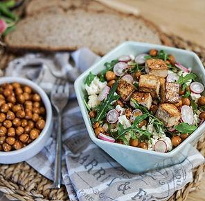recette salade de pois chiche et chou-fleur