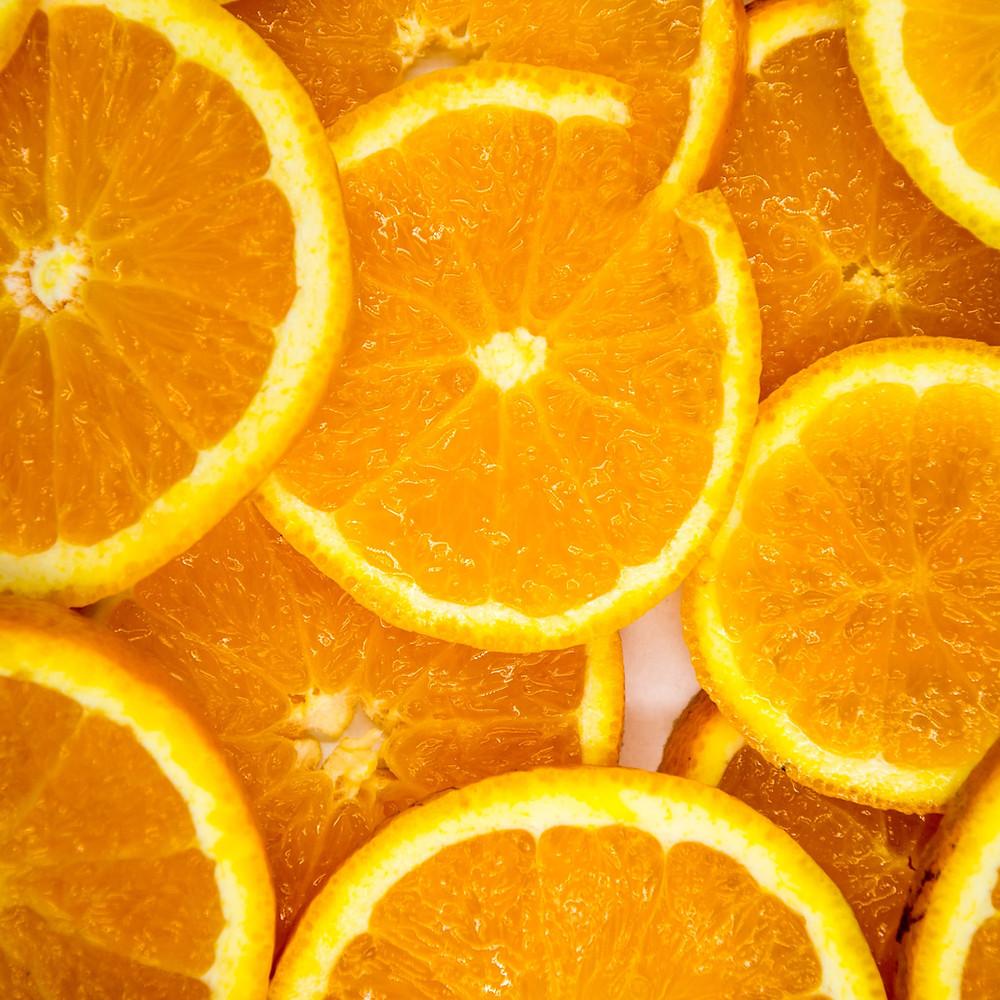 bienfait orange