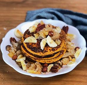 recette pancakes sucrés patate douce