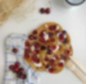 recette pancakes vegan aux cerises