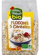 5 céréales bio terres et céréales