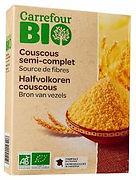couscous semi complet bio carrefour
