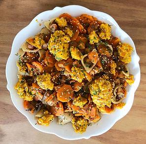 recette pâtes pesto carottes
