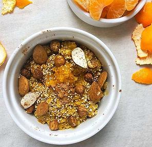 Recette pumpkin spice porridge