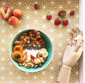 recette muesli bowl aux fruits