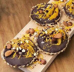 Recette tartelettes chocolat orange vegan